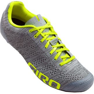 Giro - Empire E70 Knit grey heather/ highlight yellow