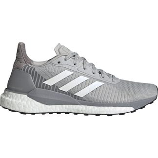 adidas - SolarGlide ST 19 Running Shoes Women grey two footwear white solar orange