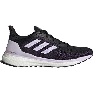 adidas - Solarboost ST 19 Running Shoes Women core black purple tint solar red