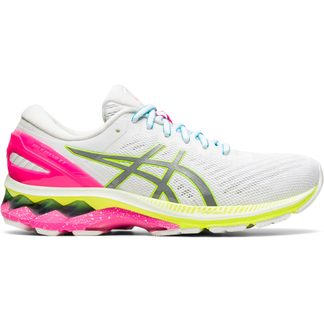 ASICS - Gel-Kayano 27 Lite-Show Running Shoes Women white pure silver