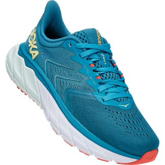 HOKA - Arahi 5 Running Shoes Women mosaic blue luminary green