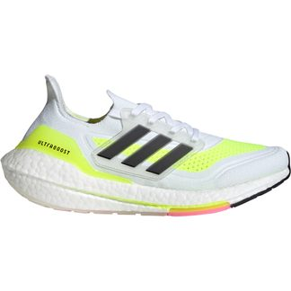 adidas - Ultraboost 21 Laufschuhe Damen footwear white core black solar yellow