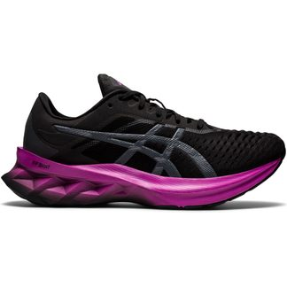 ASICS - Novablast Laufschuhe Damen black digital grape