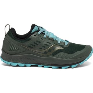 Saucony - Peregrine 10 Trail Running Shoes Women pine marine