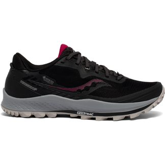 Saucony - Peregrine 11 GTX Trail Running Shoes Women black cherry