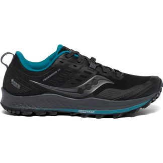 Saucony - Peregrine 10 GTX Trail Running Shoes Women black marine