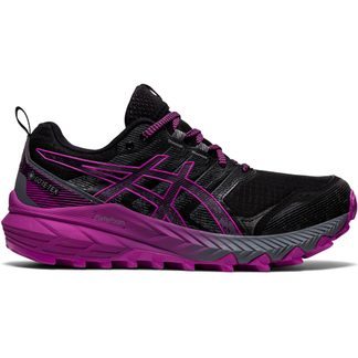 ASICS - Gel-Trabuco 9 G-TX Trail Running Shoes Women black digital grape