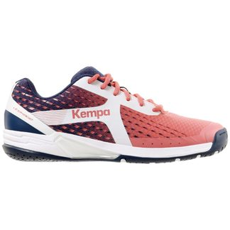 Kempa - Wing Indoor Shoes Women navy white fluo yellow