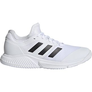 adidas - Court Team Bounce Indoor Shoes Women footwear white core black silver metallic