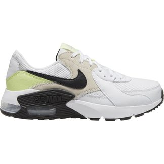 Nike - Air Max Excee Hallenschuhe Damen white black barely volt light ore