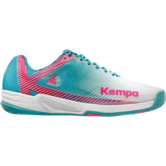 Kempa - Wing 2.0 Indoor Shoes Women white sky blue