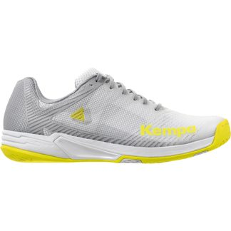 Kempa - Wing 2.0 Indoor Shoes Women white fluo yellow