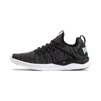 Puma - Ignite Flash evoKNIT Fitness Shoes Woman puma black charcoal gray fair aqua