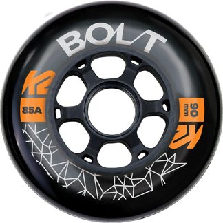 K2 - Bolt 90 mm Wheel Pack Rollen-Set schwarz