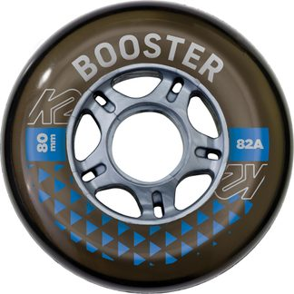 K2 - Booster 80 mm Wheel Pack black