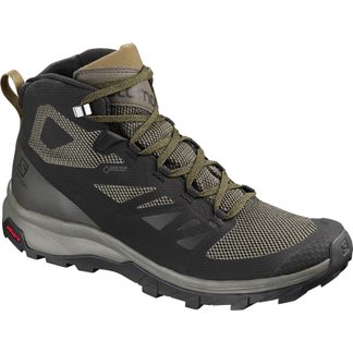 Salomon - OUTline Mid GTX® Men black beluga capers