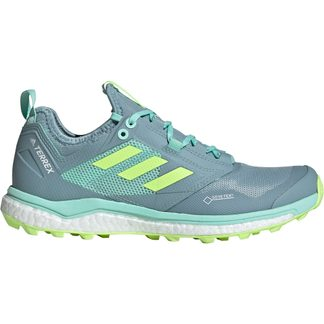 adidas - Terrex Agravic XT GTX Trail Running Shoes Women ash grey hi-res yellow clear mint