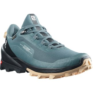 Salomon - Crossover GTX Damen stormy weather black almond cream