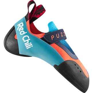 Red Chili - Puzzle Climbing Shoe Kids neon coral