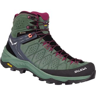 SALEWA - Alp Trainer 2 MID GTX Women duck green rohdoden