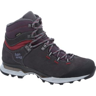Hanwag - Tatra Light Bunion Lady GTX Women asphalt dark garnet
