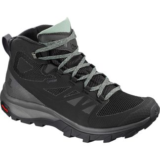Salomon - OUTline Mid GTX® Damen black magnet green