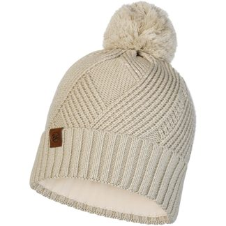 BUFF® - Knitted & Fleece Hat Raisa Unisex cream