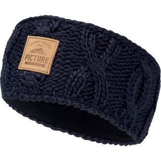 Picture - Haven headband Unisex dark blue