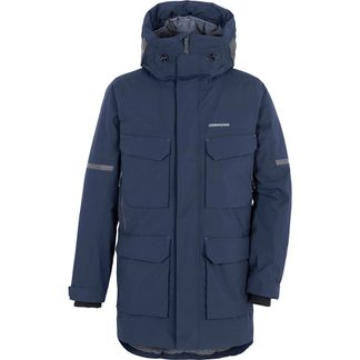 Didriksons - Drew USX Parka Men dark night blue
