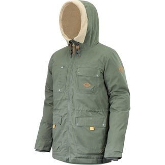 Picture - Montana Parka Men army green