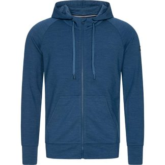 super.natural - Essential Zip Hoodie Herren dark denim melange