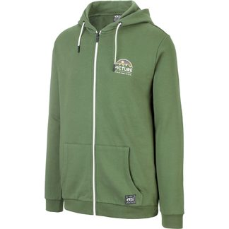 Picture - Hamelton Zip Hoodie Men army green