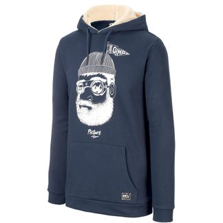 Picture - Pinecliff Hoodie Men dark blue