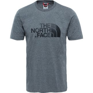 The North Face® - Easy T-Shirt Herren medium grey heather