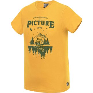 Picture - Odell T-Shirt Men safran