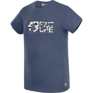 Picture - Basement Foodin T-Shirt Herren dark blue melange