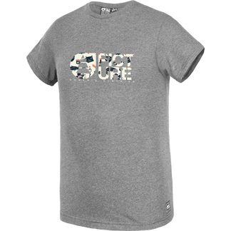 Picture - Basement Foodin T-Shirt Herren dark grey melange