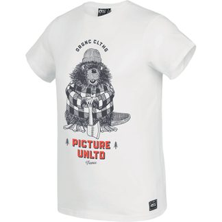 Picture - Castory T-Shirt Men white