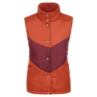 The North Face® - Sylvester Insulating Vest Women picante red deep garnet red