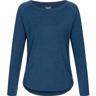 super.natural - Essential Sweatshirt Damen dark denim melange