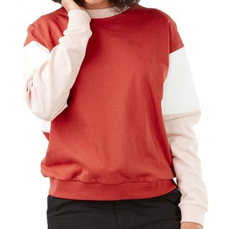 Picture - Sodad Crew Sweater Damen redwood