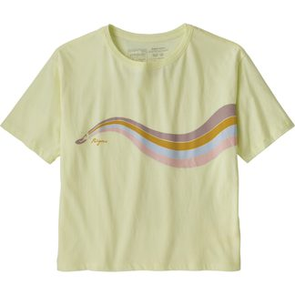 Patagonia - Psychedelic Slider Organic Easy T-Shirt Women isly