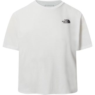 The North Face® - Foundation Cropped T-Shirt Damen tnf white heather