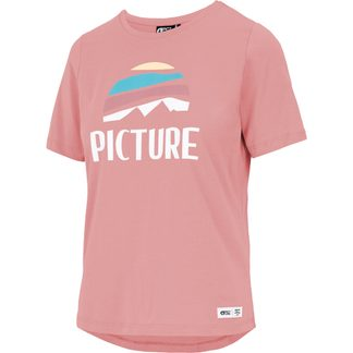 Picture - Key T-Shirt Damen rusty pink