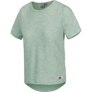 Picture - Jojo T-Shirt Damen gum green melange
