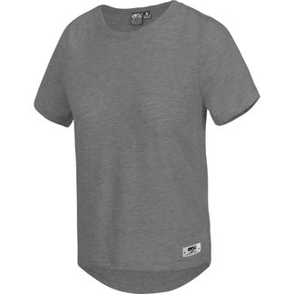 Picture - Jojo T-Shirt Damen dark grey melange