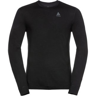 Odlo - Natural 100% Merino Longsleeve Men black