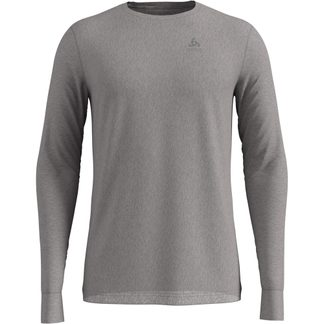 Odlo - Natural 100% Merino Longsleeve Men grey melange