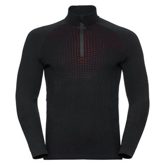 Odlo - I-Thermic Midlayer 1/2 Zip Men black