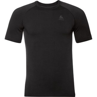 Odlo - Performance Warm Eco T-Shirt Men black new odlo grey